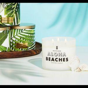 "NEW ""Aloha Beaches"" Candle"
